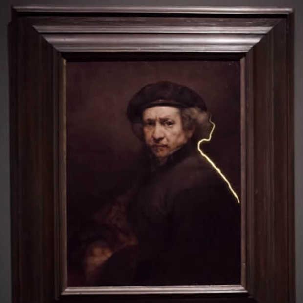 Light art in het Rijksmuseum