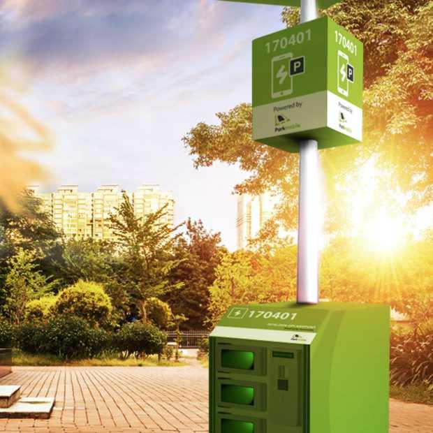 Mobiele oplaadpalen moeten huidige parkeerautomaat gaan vervangen