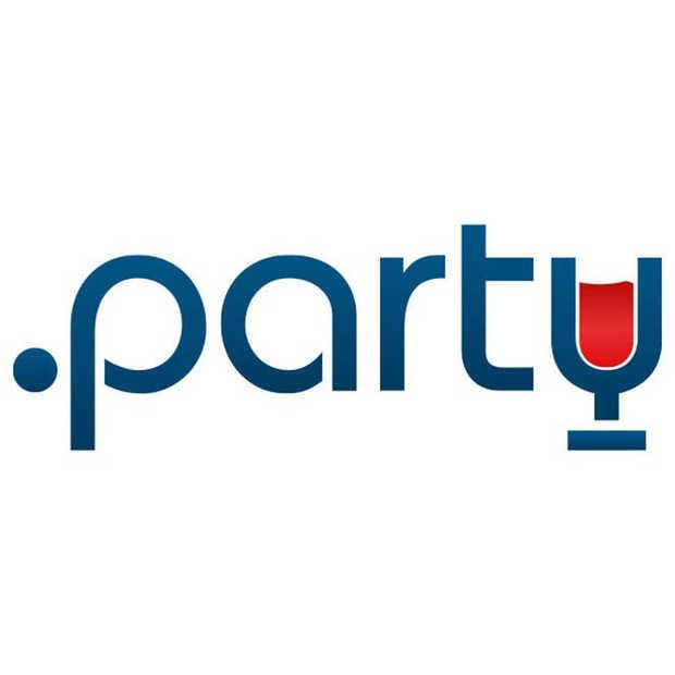 Iedereen wil een .party domein voor zijn feestje