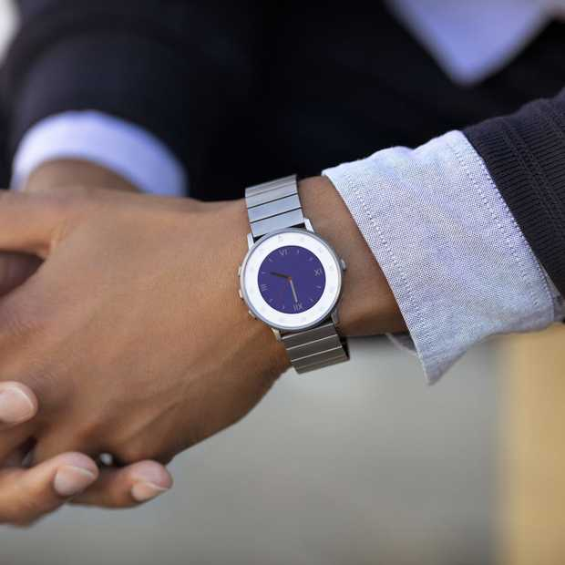 Pebble kondigt stijlvolle smartwatch aan: Pebble Time Round