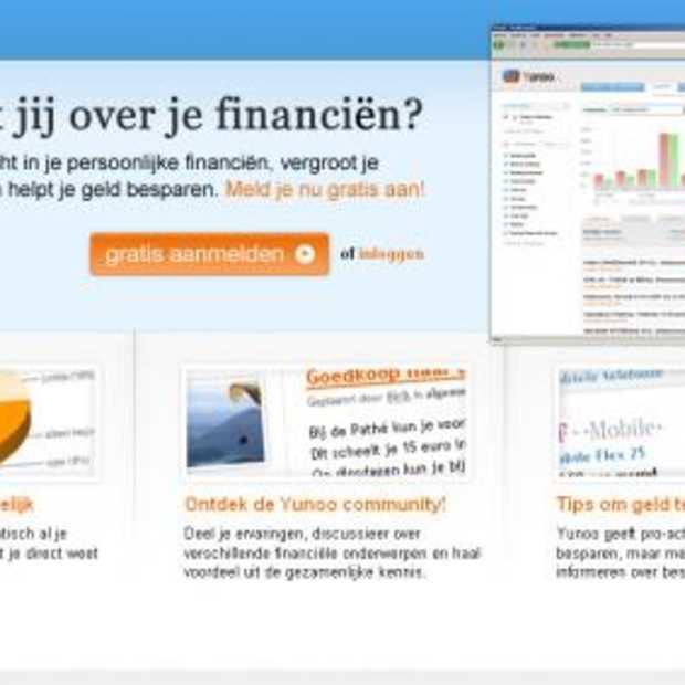 Personal online banking met Yunoo