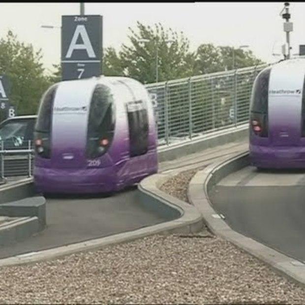 "Robotica : Autonomous Airport Transport ""Pods"""