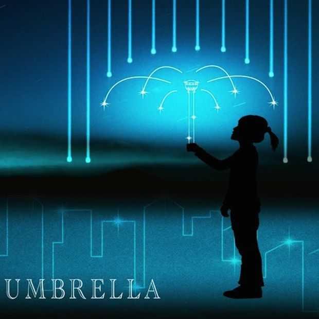 Deze paraplu beschermt je tegen de regen met lucht