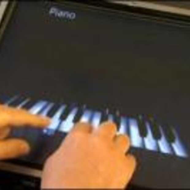 Piano spelen met Multi-touch in Windows 7