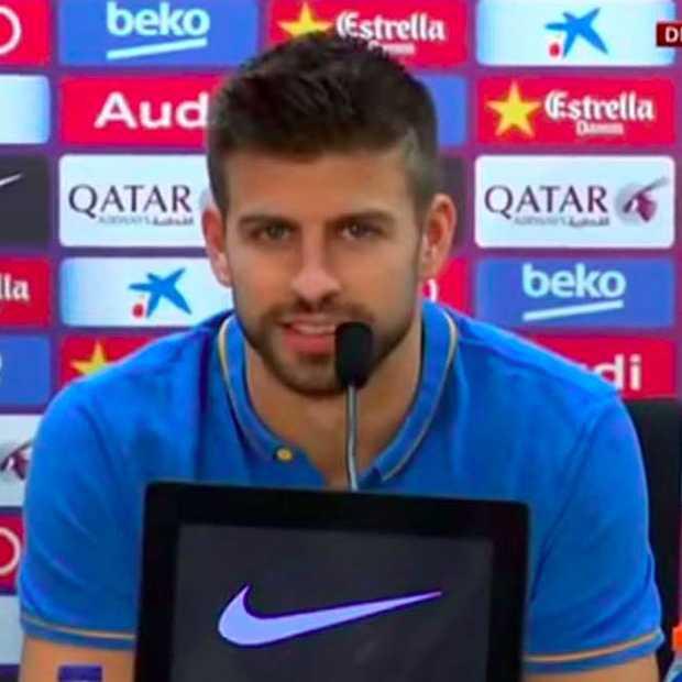 Barcelona verdediger Gerard Piqué stuurt bijna duurste tweet ter wereld ooit