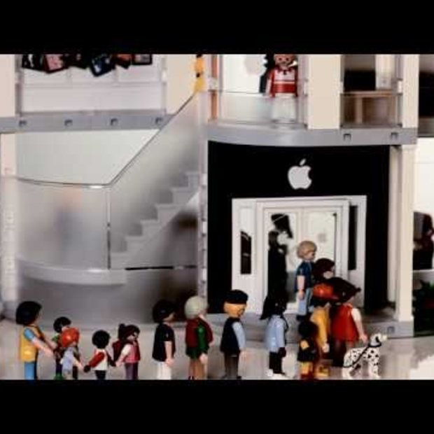 Playmobil Apple Store Play Set