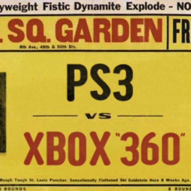 Playstation 3 streeft Xbox 360 wereldwijd voorbij
