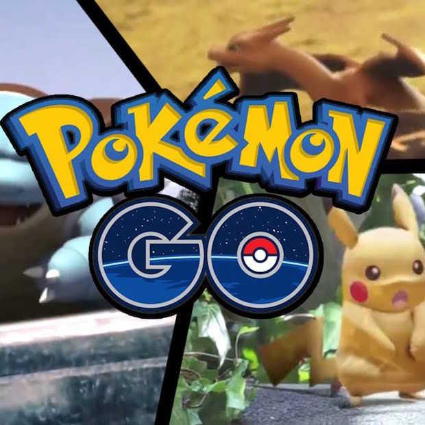 Pokémon monstertjes verlaten Kijkduin
