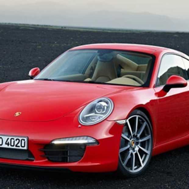 Porsche 911 Carrera wint 'Red Dot Award': Product Design 2012