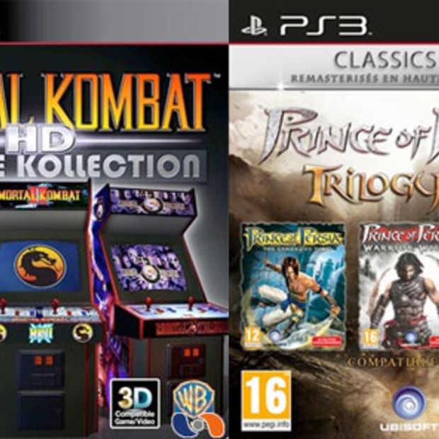 Prince of Persia en Mortal Kombat-rereleases ook in 3D