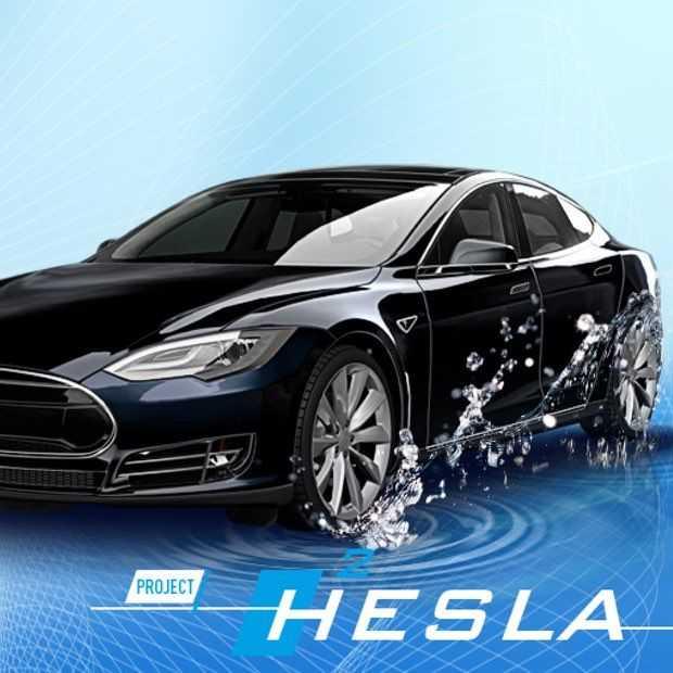 Nederlands bedrijf zet waterstofcel in Tesla voor dubbel bereik