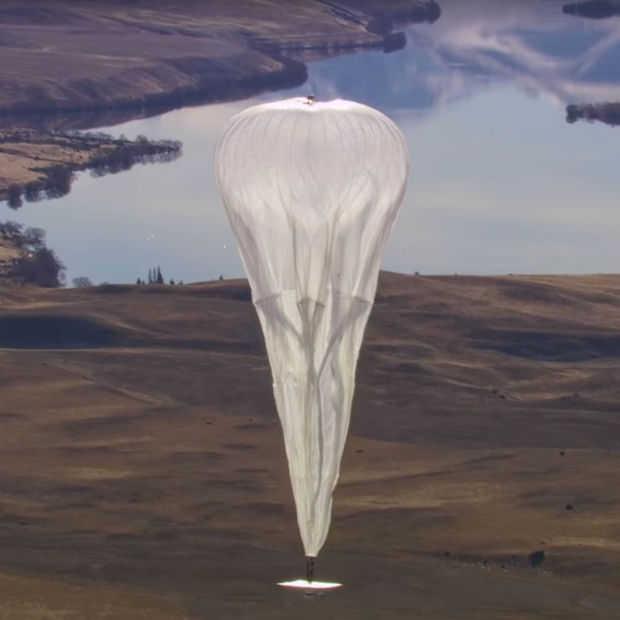 Google's internet-ballonnen sneller de lucht in dan verwacht