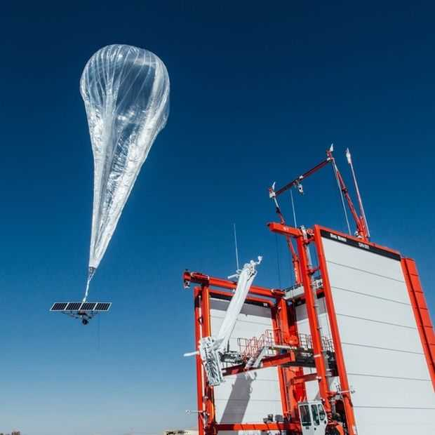 Project Loon internetballonnen halen Puerto Rico eindelijk online