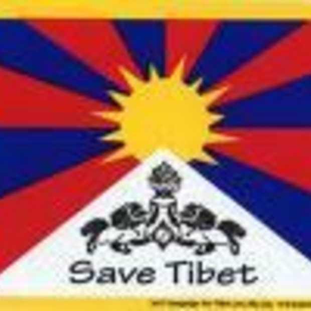 Protest tegen bezetting Tibet gaat door, ook op het web