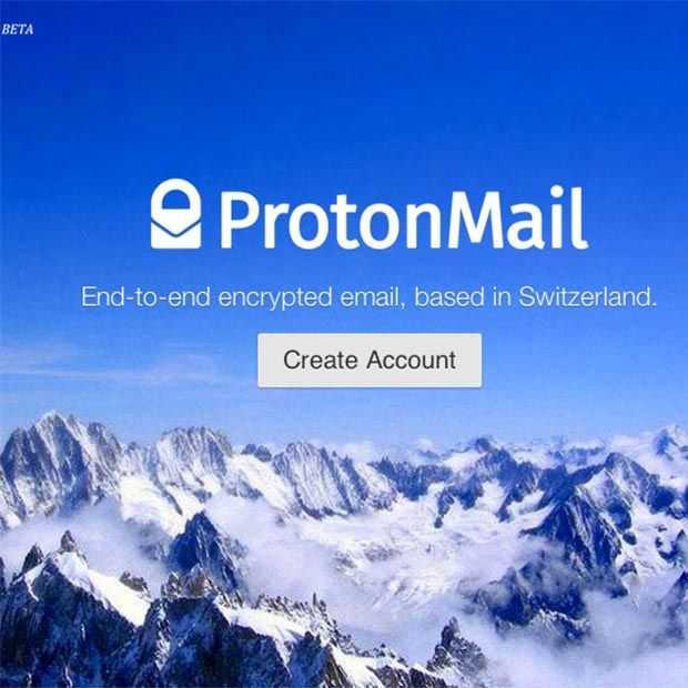 Protonmail, een e-mailservice ontoegankelijk voor NSA