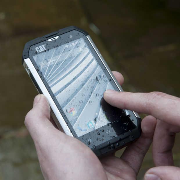 Cat B15Q een robuuste smartphone