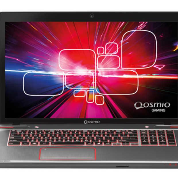 Qosmio X870 gaming laptop: ultiem hardcore gamen, maar weinig anders