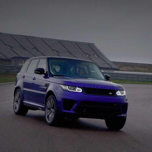 Indrukwekkende nieuwe video toont de limiet van de Range Rover Sport SVR