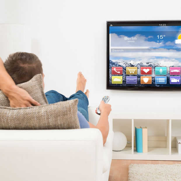 Reclame in het menu van je smart tv is de toekomst