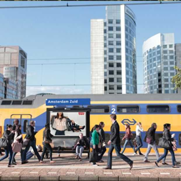 Worden we nu bespied door reclameborden op stations?