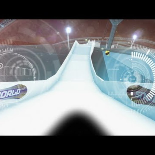 Red Bull Crashed Ice 2013 in Landgraaf - track preview