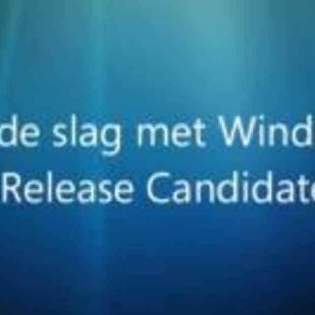 Release Candidate van Windows 7 nu beschikbaar