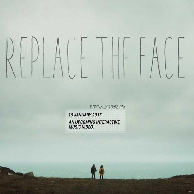 Replace the face, een interactieve muziekvideo tegen depressie en eenzaamheid #replacetheface