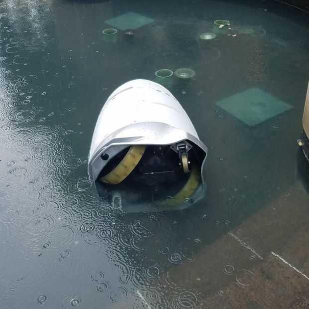 Security-robot verdrinkt zichzelf en iedereen snapt het wel