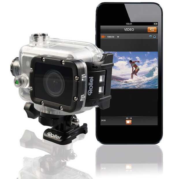 ifa nieuwe 4k actioncam van rollei. Black Bedroom Furniture Sets. Home Design Ideas