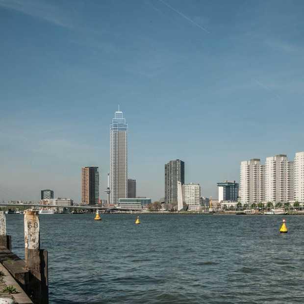 Rotterdam wil de hoogste woontoren van de Benelux bouwen