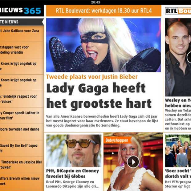 RTL Nieuws lanceert nieuwe interactieve iPad-krant