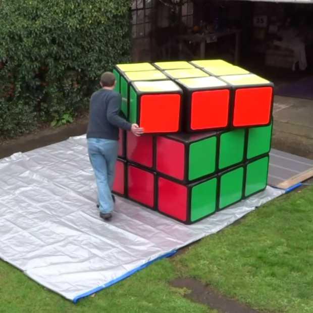 Grootste Rubik's Cube ter wereld