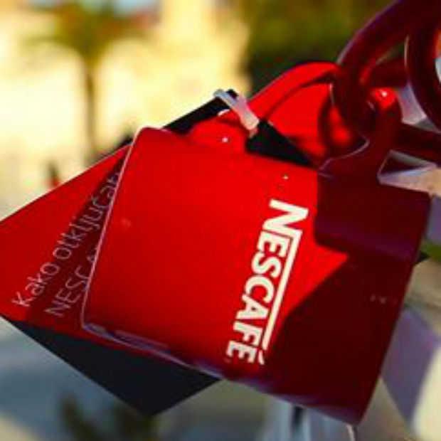 Originele social media actie van Nescafé: Unlock jouw mok