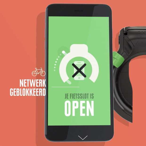 Safe Lock: slim fietsslot van VVN en KPN om fietsers te beschermen