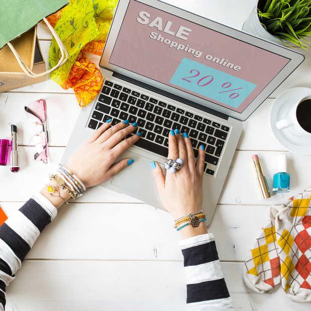 Het beïnvloeden van het online koopgedrag
