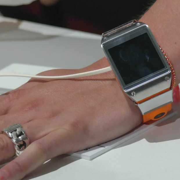 Samsung introduceert haar eerste smartwatch de GALAXY Gear