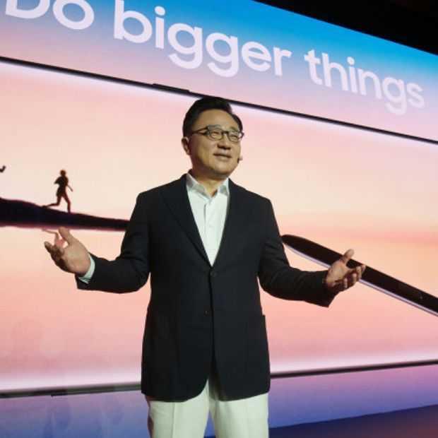 Samsung CEO: volgend jaar al opvouwbare telefoon