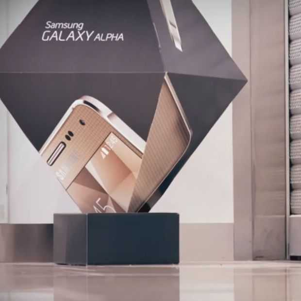 Coole campagne voor de Samsung Galaxy ALPHA 'Pick It Up'