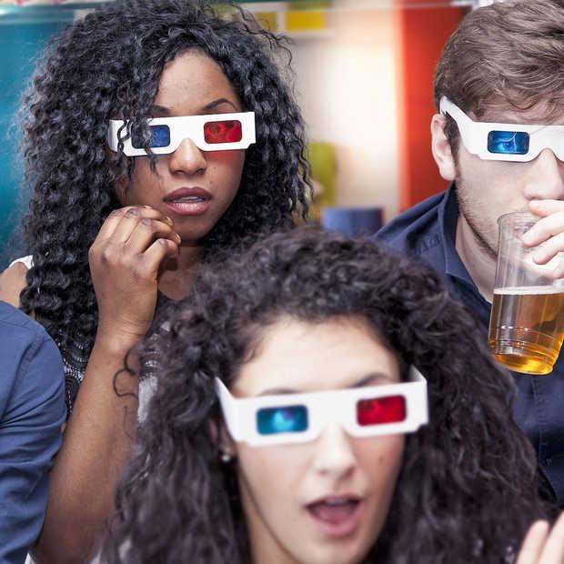 Wetenschappers ontwikkelen 3D-bioscoopscherm waarbij je geen bril nodig hebt