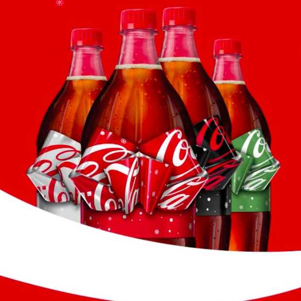 Limited edition Coca-Cola flesjes met strik!