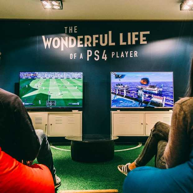 PlayStation opent game-appartement in Amsterdam