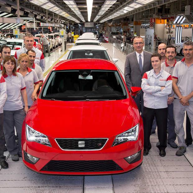 SEAT investeert 800 miljoen euro in nieuwe Leon