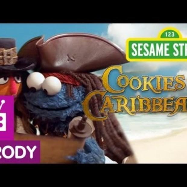Sesame Street: Cookies of the Caribbean