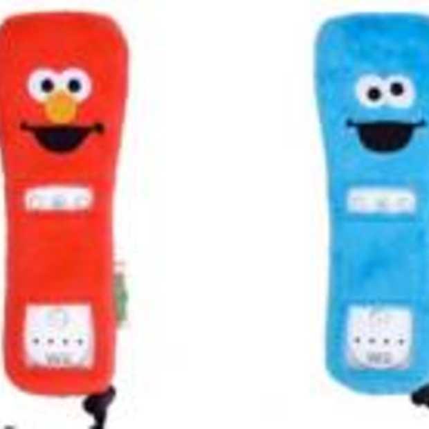 Sesamstraathoezen voor je Wiimote