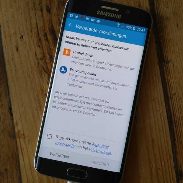 Irritante service popup maakt Galaxy S6 schier onbruikbaar