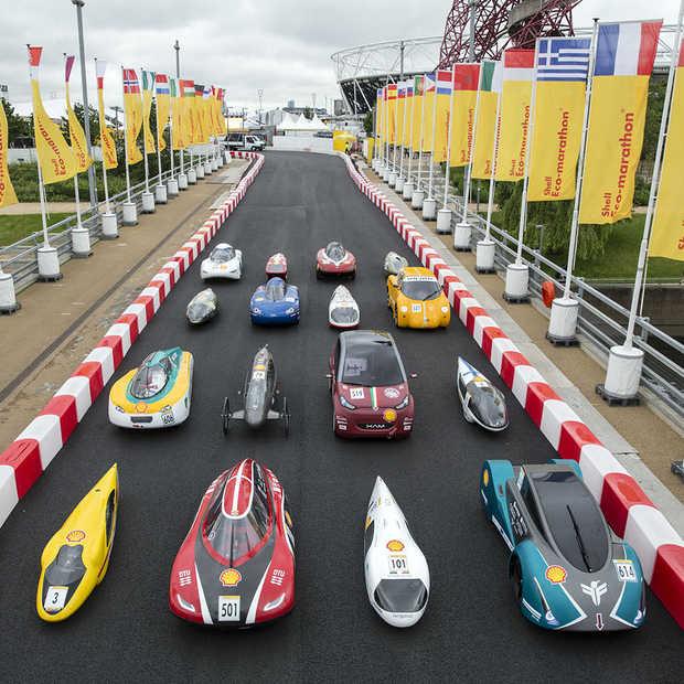 14 Nederlandse teams doen mee aan de Shell Eco-marathon in Londen