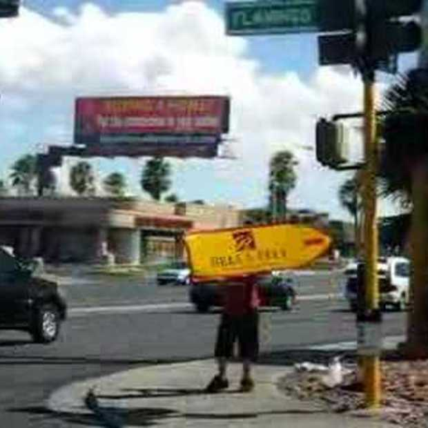 Sign Spinner Las Vegas