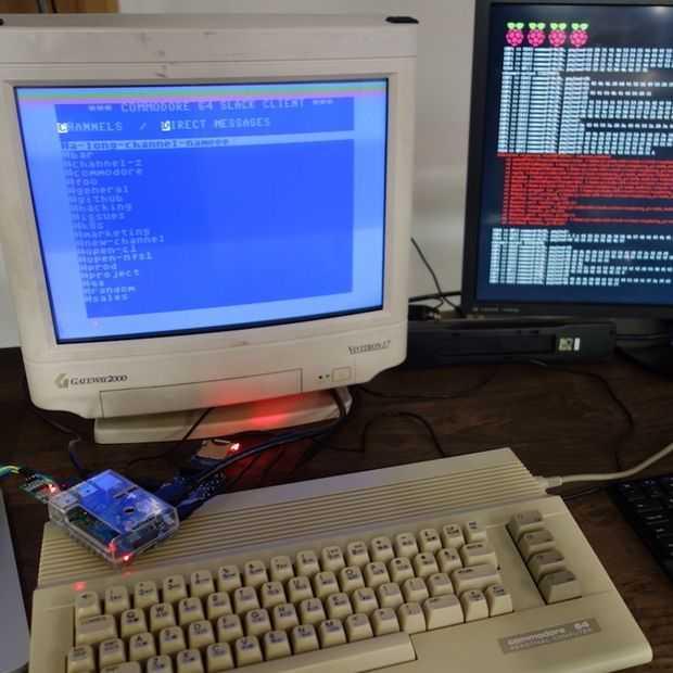 Slack draait nu ook op de Commodore 64