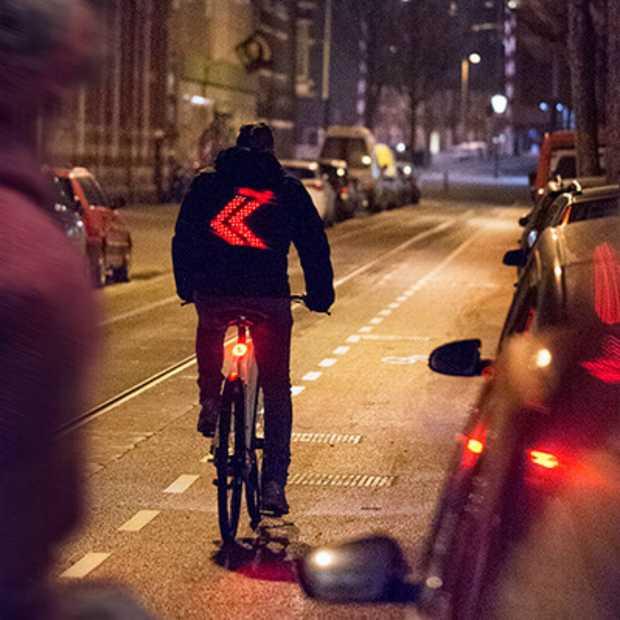 Smart jacket: veilig navigeren in het verkeer