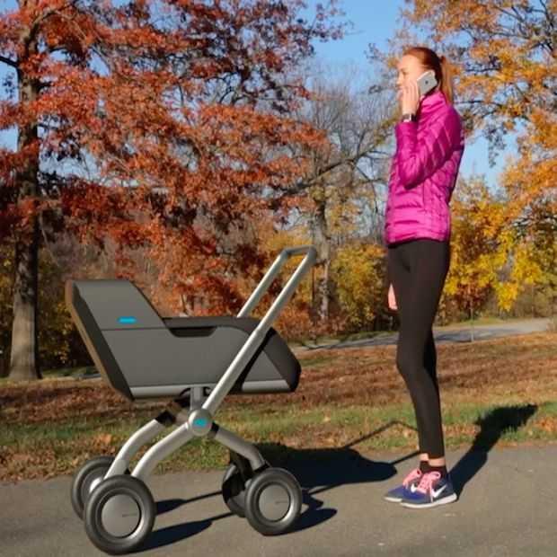 Smartbe: de eerste zelfrijdende kinderwagen